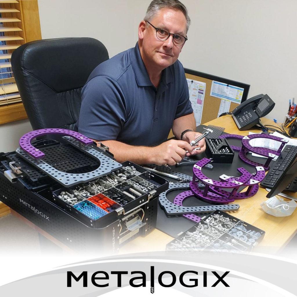 Dr. Paul Bishop using Metalogix External Plating System